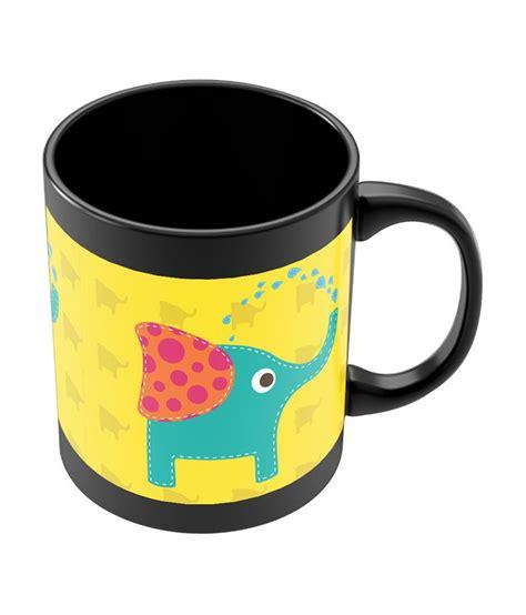 minimalist coffee mug buy posterguy quirky elephant minimalist illustration