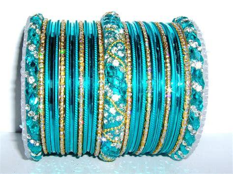 bangles and turquoise indian fashion bangles