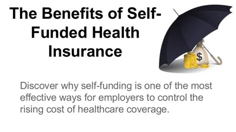The Benefits of Self Funded Health Insurance