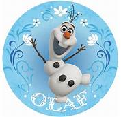 Disney Frozen Olaf Cake Image  Decoration Party