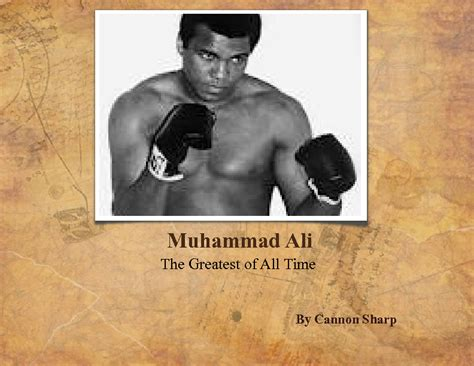 muhammad ali biography for students muhammad ali the greatest of all time book 224442