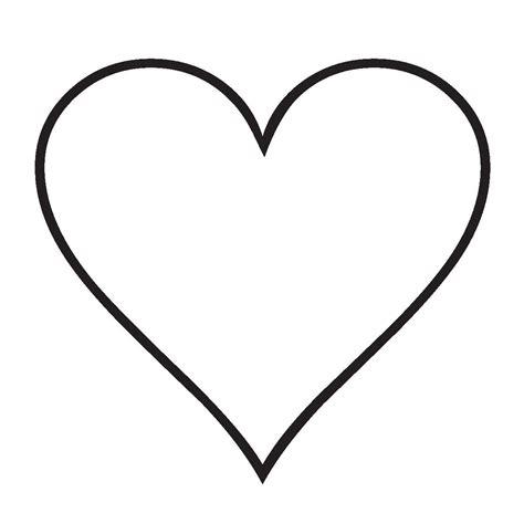 imagenes de corazones simples imagenes de corazones para colorear