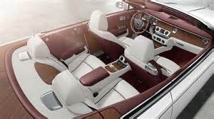 Interior Of A Rolls Royce Naples Wine Auction Winner Will Be To Own The New