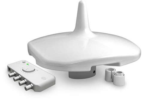 digital yacht dtv100 hd marine omni directional hdtv fm antenna