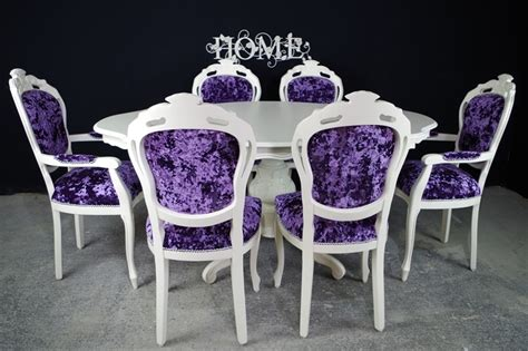 italian style dining table and chairs style dining table and 6 chairs painted vintage