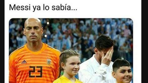 los mejores memes argentina croacia