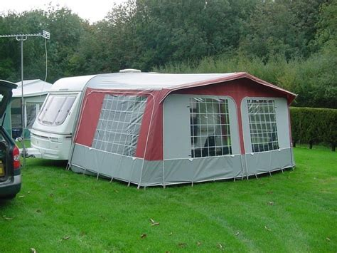used caravan porch awnings caravan awning used once ventura trident terracotta for