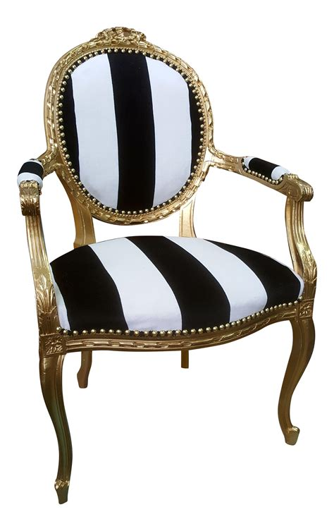 black and white patterned chair antique louis xvi chair in gold leaf with black and white
