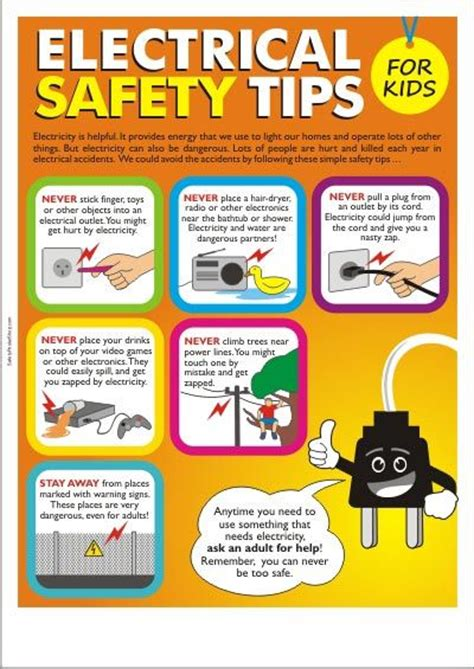 The Toaster Poem Electrical Safety Tips For Kids By Schaffhouser Electric
