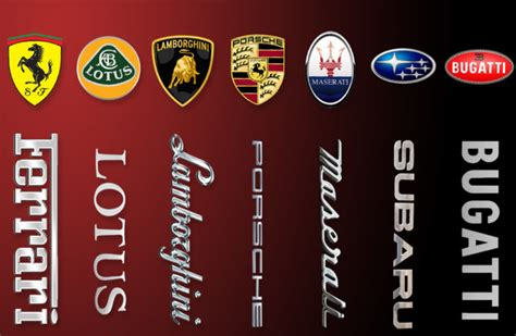 supercar logos beyond the prancing horse 7 supercar logos explained