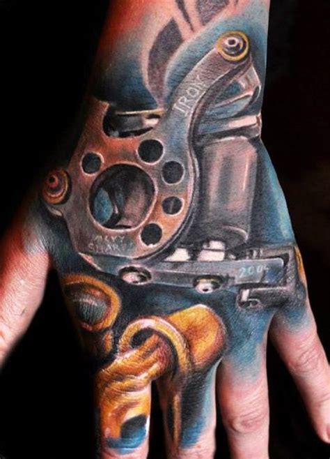 tattoo hand machine realistic machine tattoo by max pniewski tattoo no