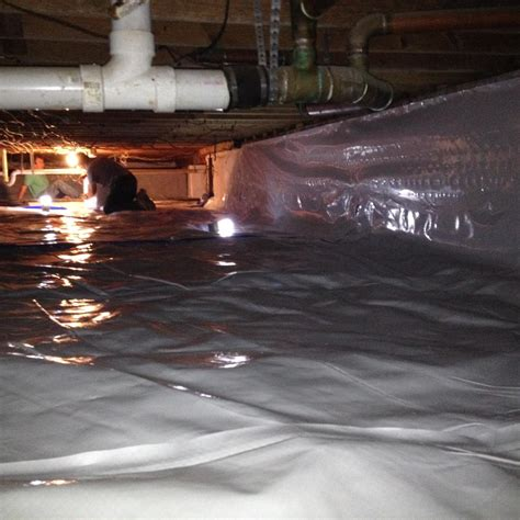 woods basement systems inc crawl space repair photo