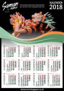 Kalender 2018 Coreldraw Saman Kalender 2018 Lengkap Arab Dan Jawa Coreldraw