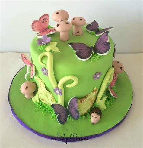 garden themed cake ideas 6 butterfly garden themed birthday cake inspired by