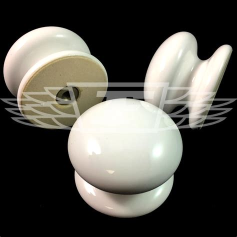 White Ceramic Knobs by 10 White 38mm Diameter Ceramic Draw Knobs Door Handles