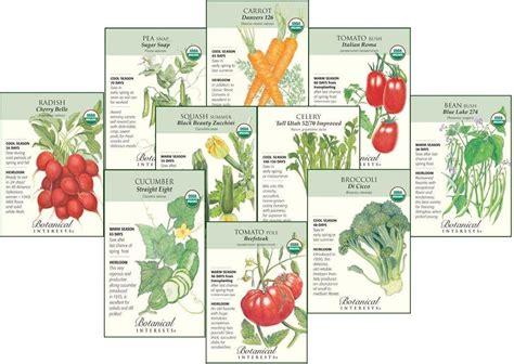 Organic Vegetable Garden Seeds Gifts For Organic Gardeners The Ultimate Organic