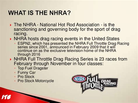 drag racing sponsorship template itg motorsports nhra 2011 season sponsorship
