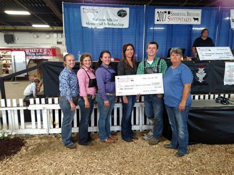Scholarship Sweepstakes 2014 - simmental breeders sweepstakes 2017 nathan adkins memorial scholarship winner