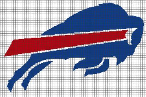 crochet pattern logos buffalo bills logo crochet graphghan pattern by