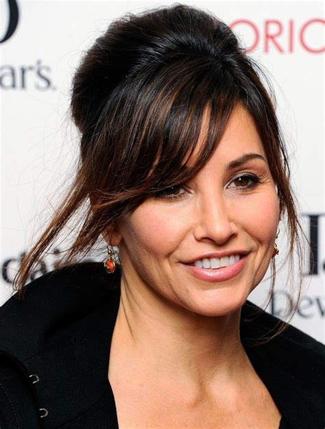 french twisted bangs top 14 gina gershon hairstyles gorgeous medium hairstyles