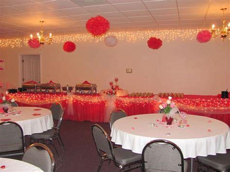 Decorating Ideas For Valentines Banquet Valentines Banquet S Day