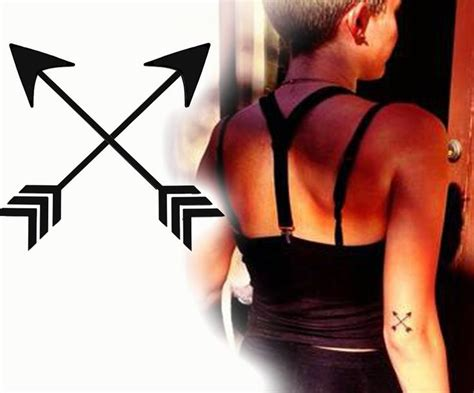 two arrows crossed tattoo meaning 17 best ideas about crossed arrow tattoos on