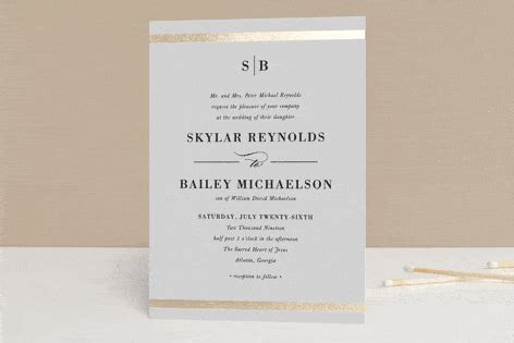 classical wedding invitations 32 ideas to incorporate initials in your wedding decor