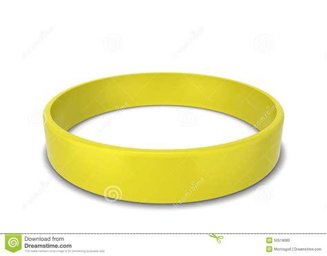 rubber bracelet stock illustration image 50518080