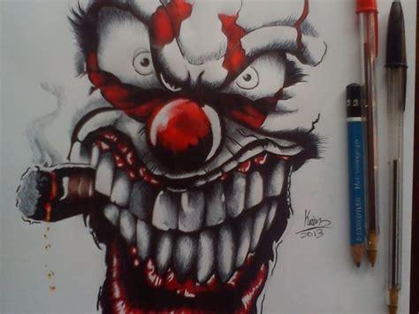 imagenes graffitis satanicos graffitis de payasos joker a lapiz faciles