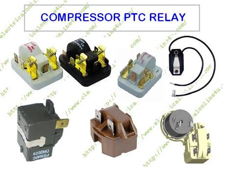 what is of ptc relay and how a compressor ptc relay