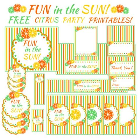 printable summer party decorations 72 best images about summer party on pinterest surf