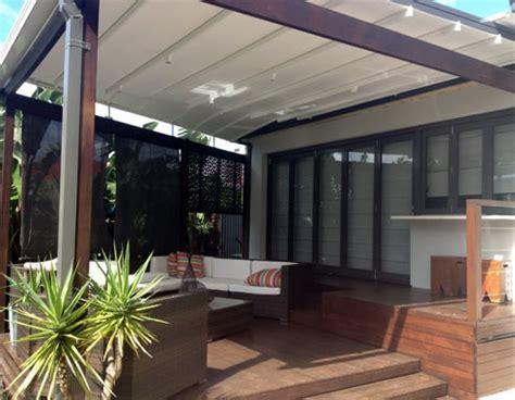 Retractable Deck Roof Retractable Patio Roofs Sydney Sunscreens