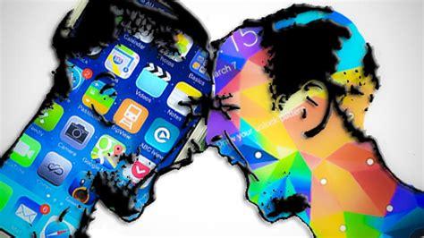 apple vs samsung battle of smartphones apple vs samsung mator mobile