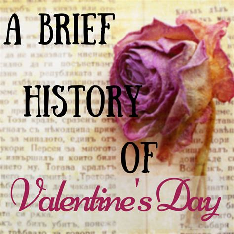 origins of valentines day a brief history of s day