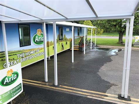 Canopy Retail Retail Commercial Entrance Canopies Canopies Uk