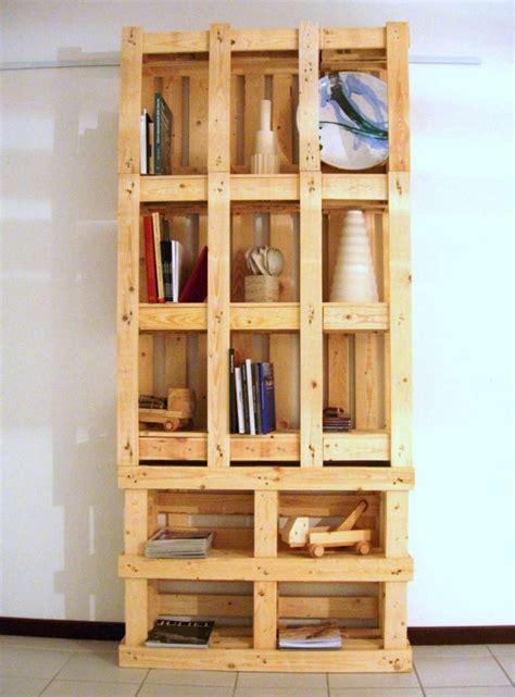 librerie foto librerie con materiale di recupero foto 22 40 design mag