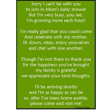 Thank You Note To Infant Baby Shower Thank You Note 2 Mummysmojo Baby Shower