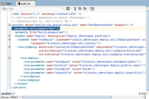 tutorial build xml build properties file for build xml software free