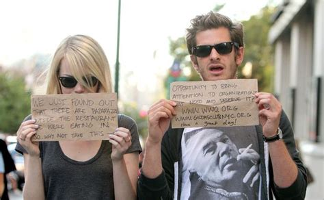 emma stone married emma stone la is less fun now i m with andrew garfield