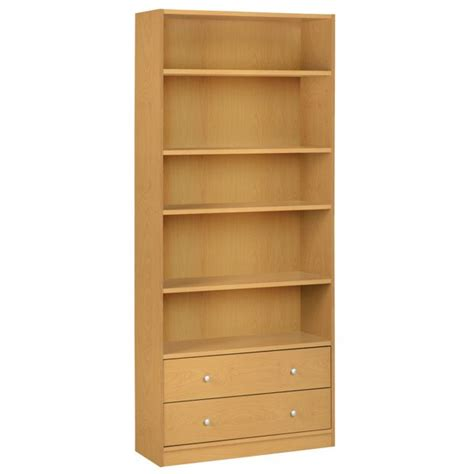 Shelf Units Argos by Buy Home Maine 2 Drawer Bookcase Beech Effect
