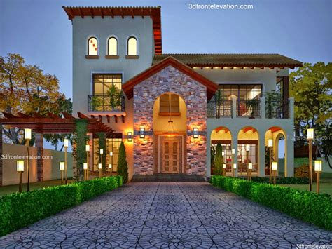 front elevation beautiful house designs house plans