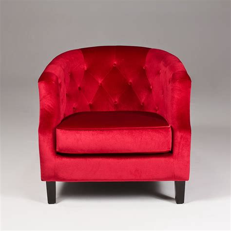 red bedroom chair red accent chair with arms goenoeng