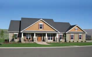 craftsman style ranch home plans ranch house plans