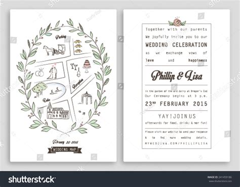 Wedding Banner Layout by Wedding Invitation Template Map Royal Invitation Stock