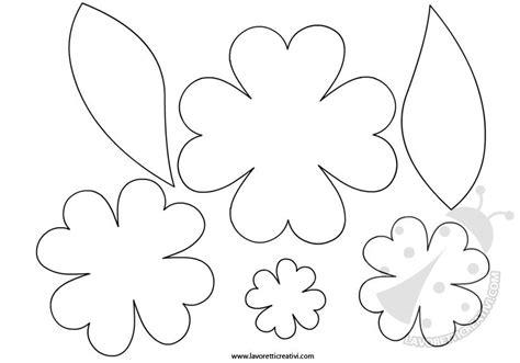 sagoma fiore da ritagliare lavoretti primavera sagome fiore lavoretti creativi