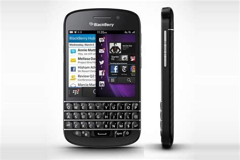 blackberry q10 la fiche technique compl 232 te 01net