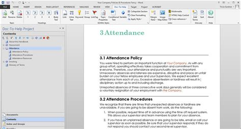 building access policy template create policies procedures documents help and