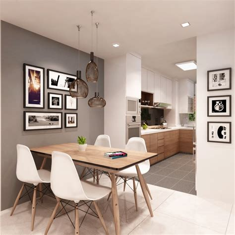 dining room ideas for apartments hdb kitchen designs that will rock your cooking world