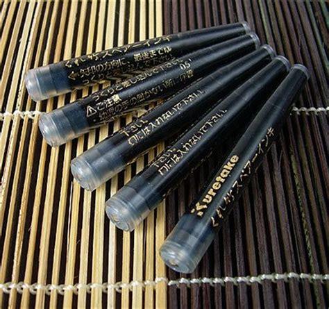 Kuretake Pen Ink Sumi Ink kuretake sumi brush pen refill ink cartridges 5 pack