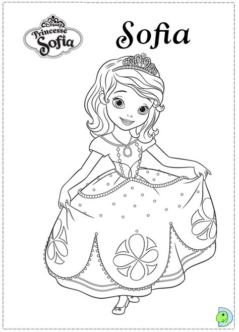 free coloring pages of sofia the